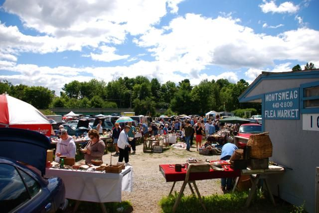 Bargain Hunt at These Flea Markets in Maine: Flea market bargain hunting is a summer ritual in Maine, and you never know what you'll discover.