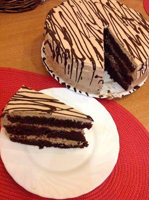 Остров рукодельного удовольствия.: Шоколадношоколадныйсупершоколадный торт!