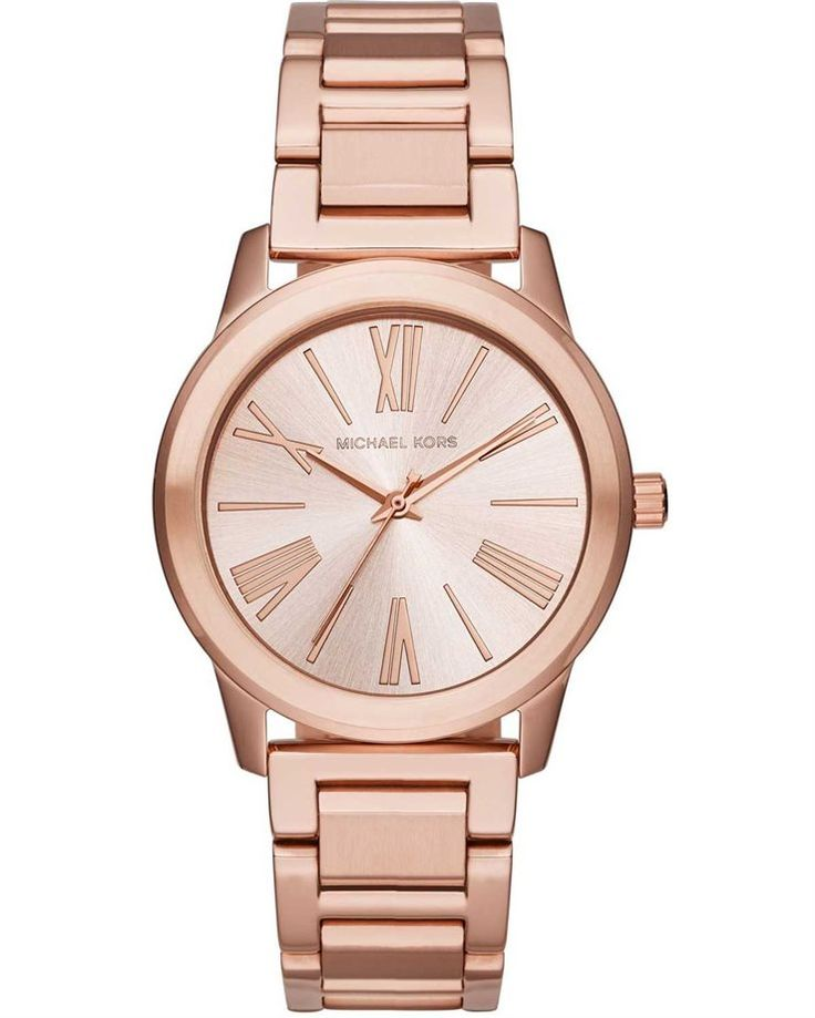MICHAEL KORS Hartman Rose Gold Stainless Steel Bracelet MK3491