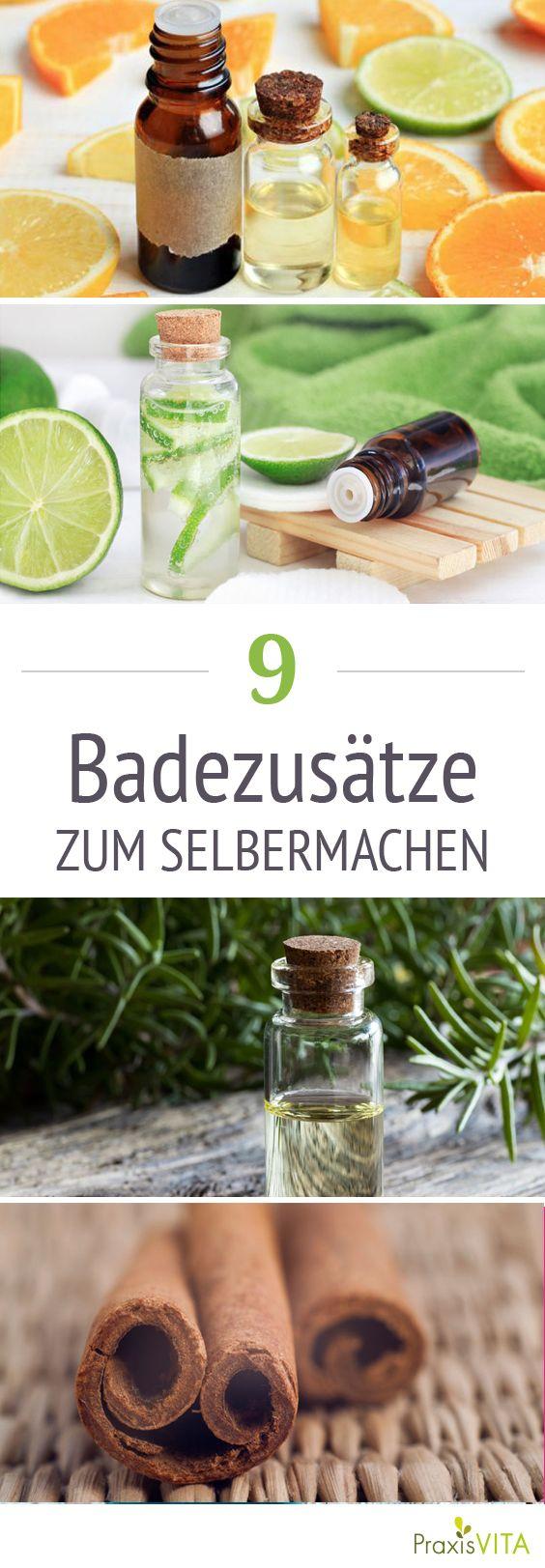 Badezusatz selber machen – 9 Rezepte