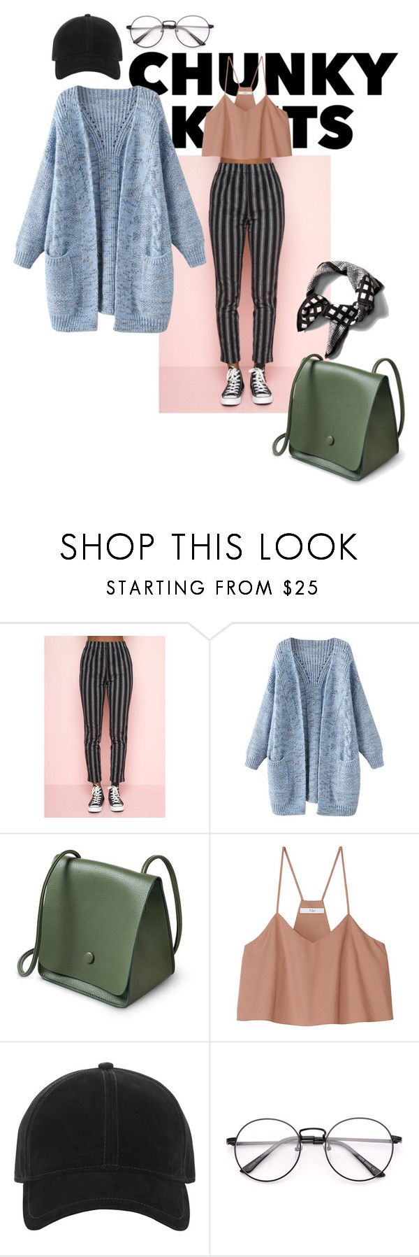 """chunky Tuesday"" by nover on Polyvore featuring TIBI, rag & bone and Banana Republic"