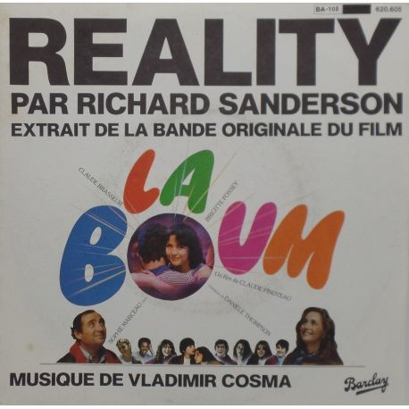 Richard Sanderson - Reality - La Boom