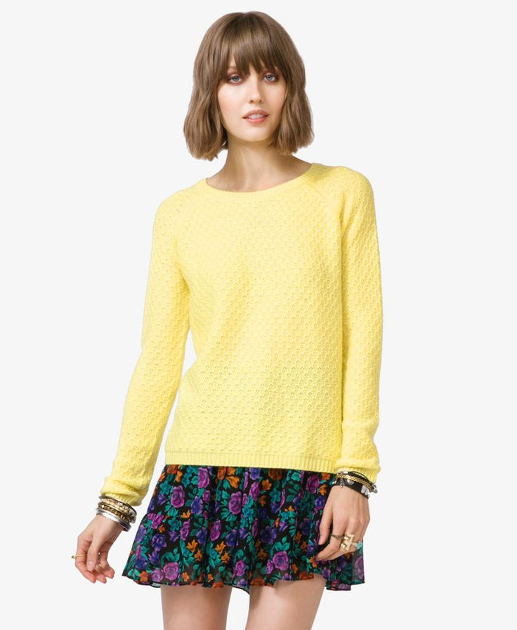 33 best yellow knit images on Pinterest | Knit sweaters, Knits and ...