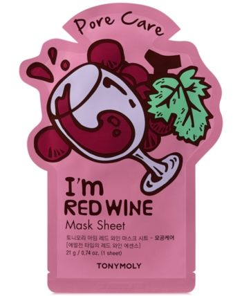 Tonymoly I'm Red Wine Sheet Mask – (Pore Care)