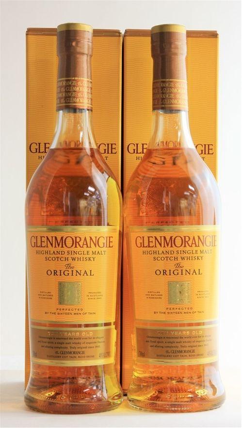 Glenmorangie `The Original` Single Malt Scotch Whisky 10YO (2 x 700mL)