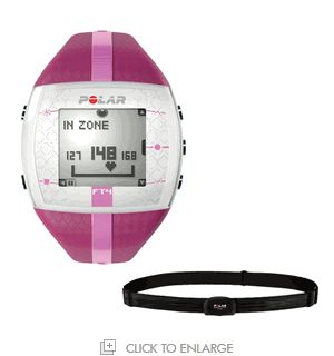slim sanity: polar heart rate monitor Found one of these at Sports Authority and thought it would be neat to have and of course bought it.  Went for a 45 min brisk jog/run with it this evening and burned 386 calories. Love it!