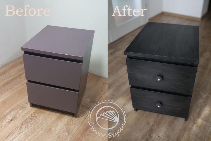 Ikea furniture makeover. #ikea #chalkpaint #ikeahacks