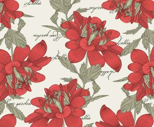 Pattern Dahlia Floral print for fabrics and Wallpapers http://ekran.in.ua/6-11-1.html