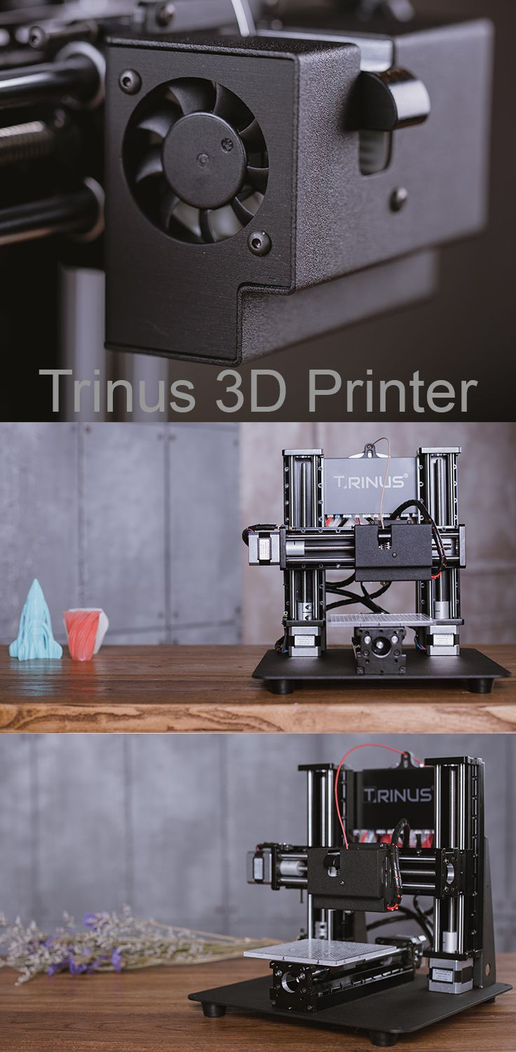 Trinus is all metal 3D PRinter #trinus3d #DIY #3Dprinting #Kickstarter