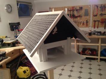 vogelhaus bauanleitung diy pinterest diy and crafts. Black Bedroom Furniture Sets. Home Design Ideas