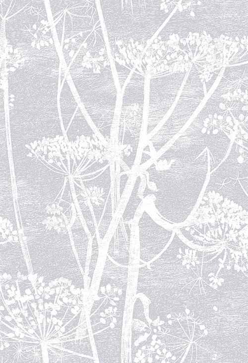 Cow Parsley Soft Lilac wallpaper by Cole