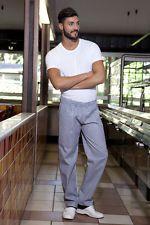 PAGAMENTO ANCHE ALLA CONSEGNA Pantalone Pantaloni da Lavoro Uomo Donna pantalaccio Cuoco Abbigliamento Abiti