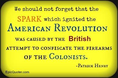 Patrick Henry Revolution Quote