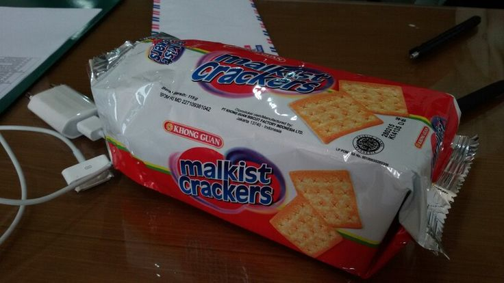 cemilan cepuluh Malkist Crackers