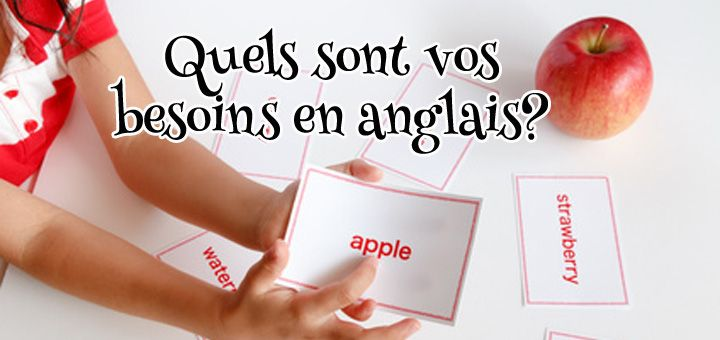 Quels sont vos besoins en anglais? www.FunandEnglish.com l Formation d'anglais en ligne FUN