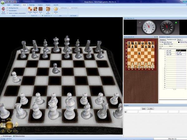 Profi Schach 6 - Dieses Schach-Programm lässt keine Wünsche offen. Features: 2 3D-Bretter mit besserer Darstellung Fritz12 Oberfläche. 190 Min. Videokurs mit Eröffnungs-Grundkurs. Online-Zugang auf schach.de. 1,5 Million Partien.
