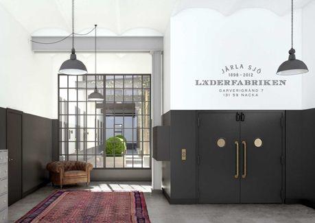 Oscar Properties : Läderfabriken #oscarproperties  windows, entrance