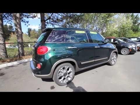 EZ010039 | 2014 Fiat 500L Trekking | Rairdon's FIAT of Kirkland | Forest Green