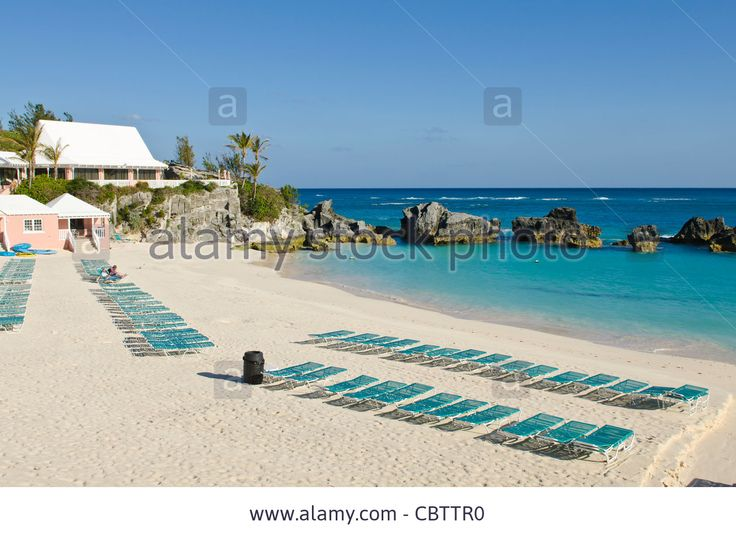 Bermuda. East Whale Bay Beach At Fairmont Southampton Princess ...