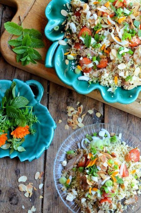 "Lavender and Lovage | ""Arabian Nights"" Tabbouleh Salad Recipe for the NEW App Uniform Foodies | http://www.lavenderandlovage.com"