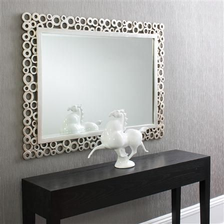 Rectangular Silver Mirror Classic Modern And Galleries