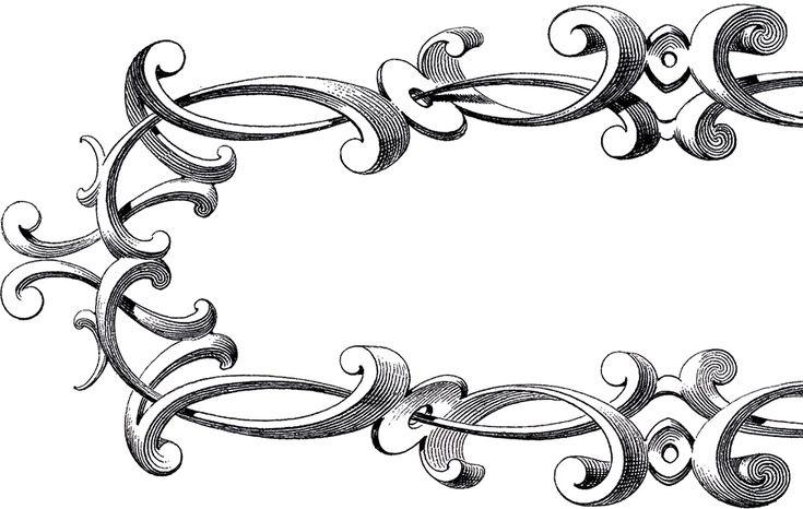 free victorian clip art frames - photo #5