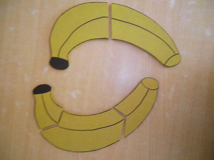 houten puzzel banaan *liestr*
