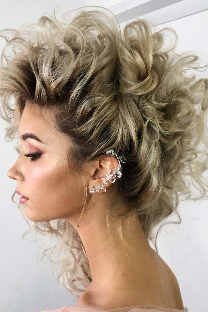 64 Incredible Hairstyles For Thin Hair Lovehairstyles Cute Wedding Hairstyles Hair Styles Curly Hair Styles Naturally