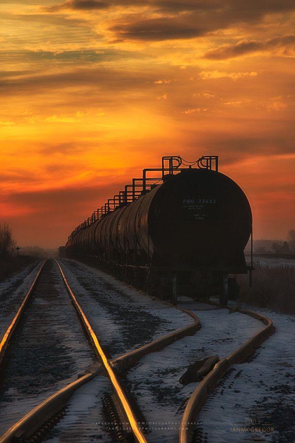 Sunrise Rail 6229_13 by Ian McGregor on 500px