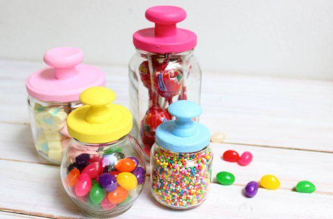 Bomboneras hechas con frascos reciclados | Blog de BabyCenter
