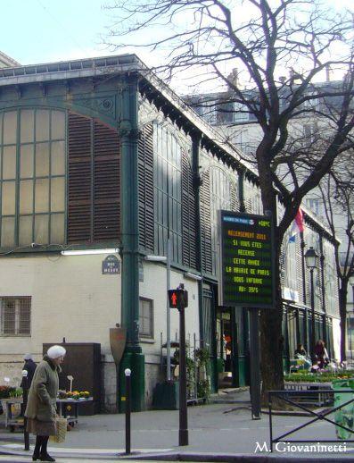 Paris 19e - Le gibet de Montfaucon : plaque de la rue de Meaux .