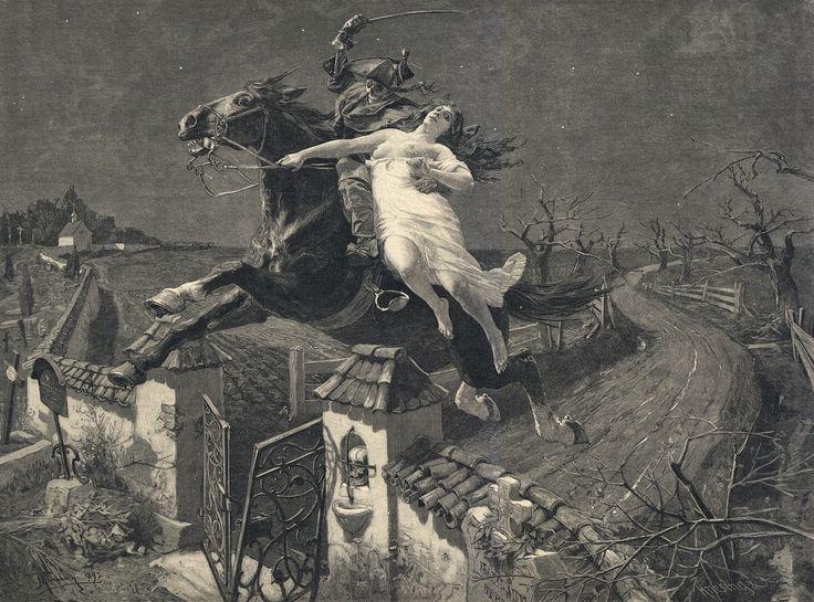 Frank Kirchbach, Lenore, 1896.