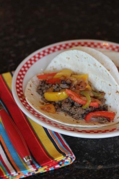 Quick and easy steak fajita recipe