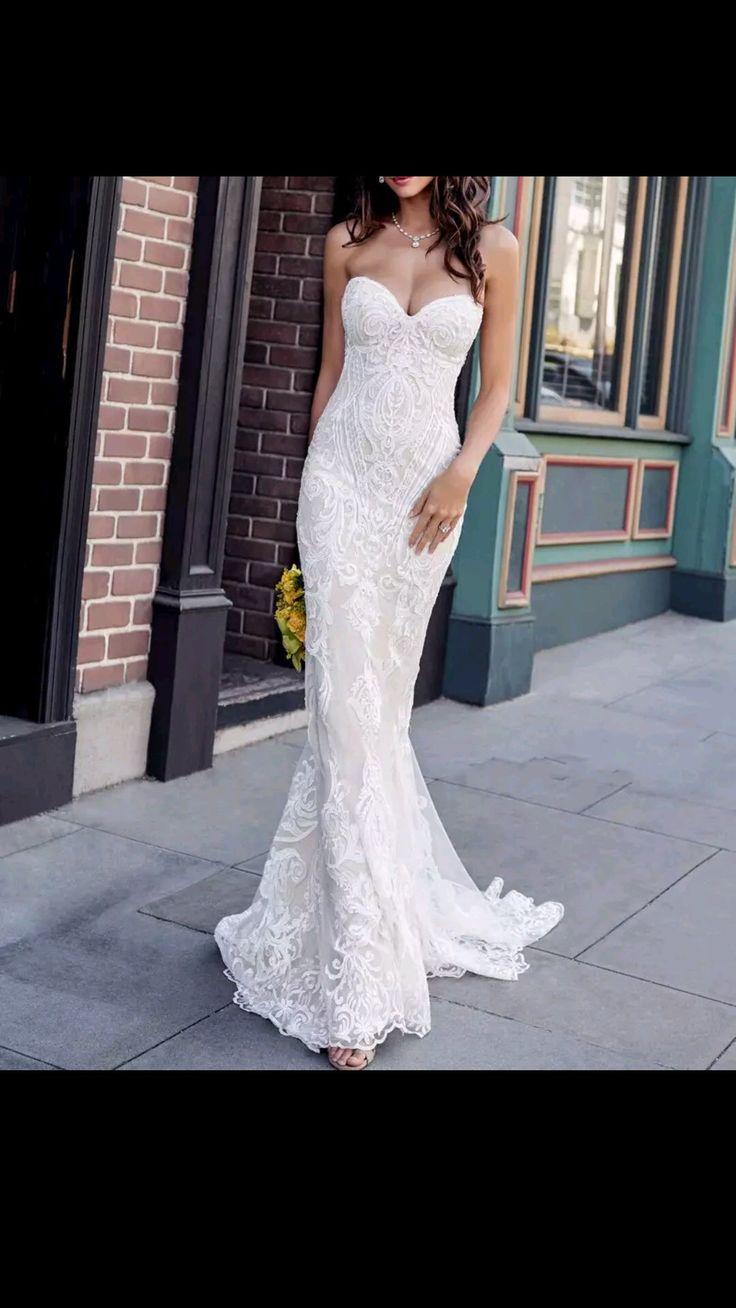 BIG SALE -70% DISCOUNT Vestido de novia Sweetheart Mermaid Wedding ceremony Gown Distinctive Lace Appliques Bride