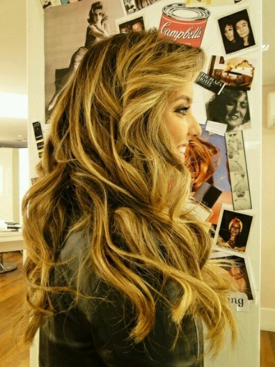 77 best hair color images on pinterest hairstyles hair and braids hair waves fashion trends 2012 wavy hair have always been on top whatever is your hair color if you have big volumized waves than pmusecretfo Gallery