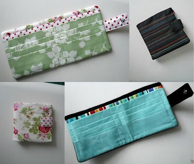 {Sew} Get Started: Fabric Wallet Tutorial from http://fairyfacedesigns.blogspot.com