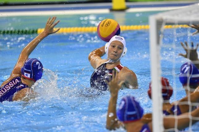 Antal Dóra gólt dob a riói nyári olimpia női vízilabdatornáján, a harmadik…