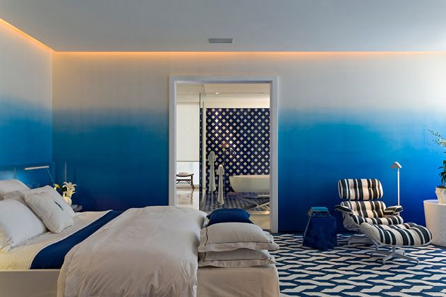 """Azul mediterráneo, también es un diseño que hace parte de """"Eclectic"""" Colección Tablemac 2014, http://tablemac.co/main/disenos"""
