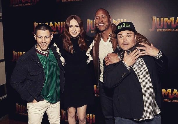 """2,813 Likes, 45 Comments - Nick Jonas (@nickjonas) on Instagram: """"Great time at CinemaCon with team Jumanji premiering the sizzle real for our movie! @kevinhart4real…"""""""
