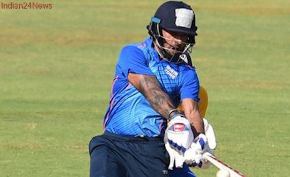 Deodhar Trophy 2017: Shikhar Dhawan roars back to form with 128 against India A