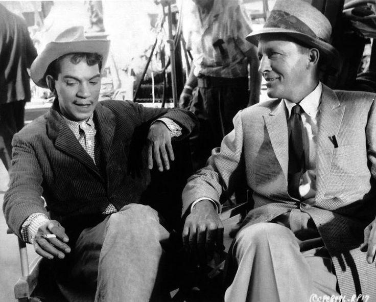 Cantinflas y Bing Crosby