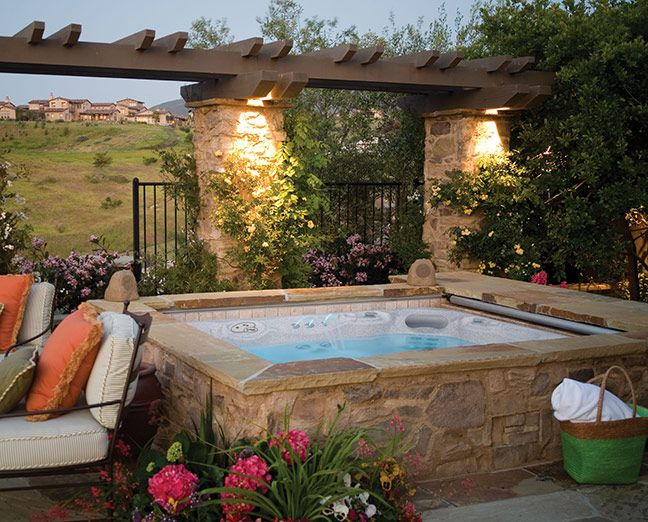 1878 best screened hot tub images on pinterest - Patio Ideas With Hot Tub