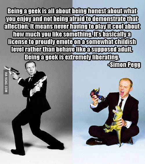 The definition of geek