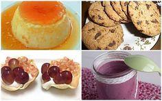 Cuatro postres bajos en calorías