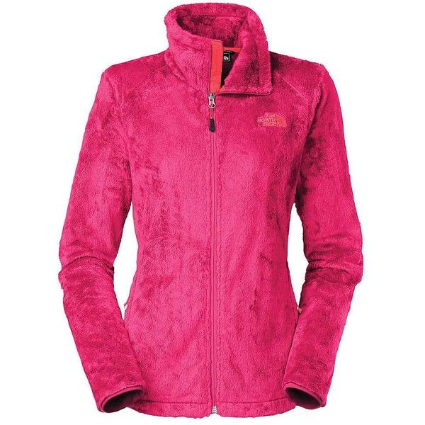 The North Face Women's Osito 2 Jacket ($60) ❤ liked on Polyvore featuring activewear, activewear jackets, cerise pink, sexy activewear, the north face, women activewear and columbia sportswear