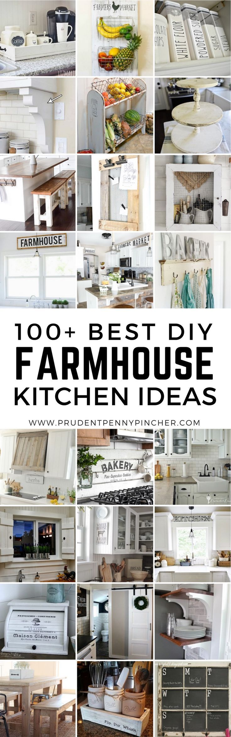 100 Best Farmhouse Kitchen DIY Ideas
