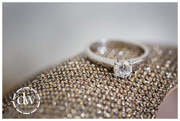 Brides engagement ring at Downing College, Cambridge