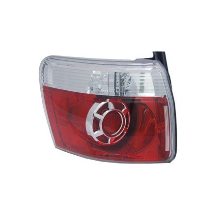 Replacement Tyc 11 6430 00 9 Driver Side Tail Light Lamp For 07 12 Gmc Acadia White Lamp Light Tail Light Walmart