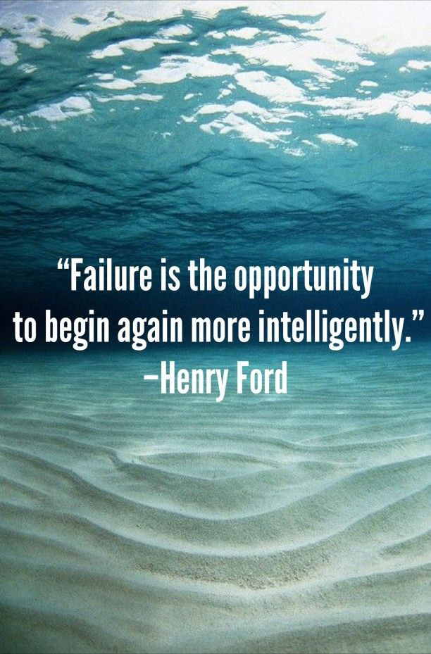 This quote is SO true. Get used to failing - it's part of the journey! Pin this if you agree!