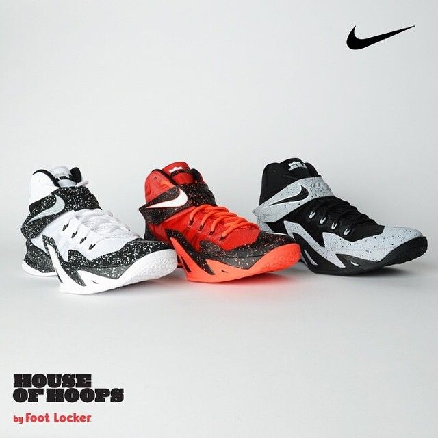 Three new colorways of LeBron\u0027s Nike Zoom Soldier VIII Premium Player Pack  are now in stores